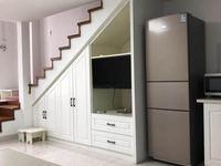 翰林世家LOFT,精装,两室一厅,可拎包入住