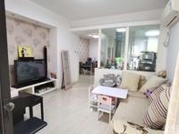 星汇半岛一期90.03平 ,两室两厅 居家装修 满2年