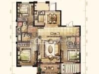 御龙湾143平3室2厅3卫 全新毛坯房 满2年 西边套 房东换房诚心出售