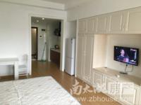 奥园一号 单身公寓 42平 精装 空,热,彩,冰,洗,床,家具 1800元