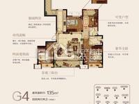 佳源都市 133平4室2厅2卫 全新毛坯 中高楼层 总价带车位包税 看房方便