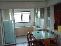 天盛花园 三室二厅 126平 精装 空,热,彩,冰,洗,床,家具 3700元