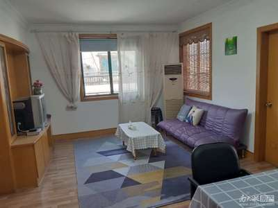 龙溪小区 二室二厅 60平 精装 空,热,彩,冰,洗,床,家具 1800元