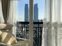 市中心城市景观阳光城单身公寓 拎包入住