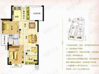 天元颐城 两室两厅 带入户花园 阳台凸出