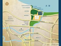 南太湖新区首创逸景排屋,278平,-1-3楼,环境好,户型好!满两年,仅396万