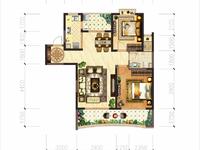 南太湖旅游度假区,御湖天誉高层19楼,84方,两房两厅一卫,超大景观阳台,80万