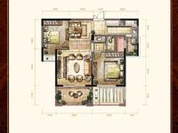 御龙湾高档装修,两室两厅,居中楼层,视野开阔,满两年