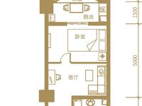 金色水岸10楼,57.2平,毛坯,朝南,一口价80万,看房方便,有钥匙