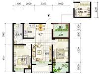 首创悦府29楼三室二厅精装修
