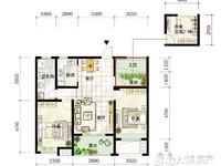 仁皇山高档小区,首创悦府,85方,三开间朝南,只需125万,3室2厅1卫