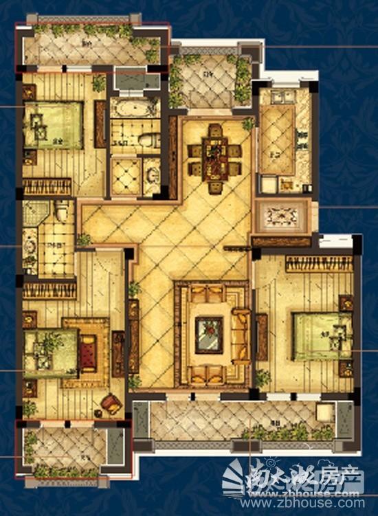 Y 三室两厅两卫