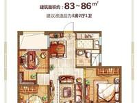 湖东府,双阳台,三开间,房东包营业税,空间感好,通透性好,适宜居住