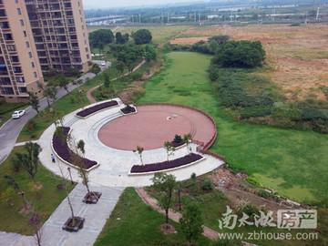 公园俯视图