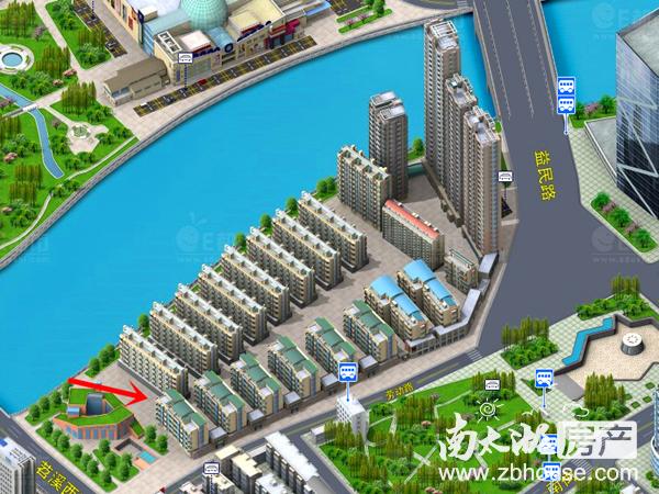独家!市中心特价房星海名城16楼,125.44方,三房两厅一卫,142万,满两年