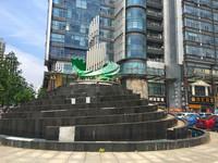 金世纪大厦9楼,596.85平米,办公精装,400万