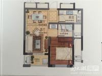 市中心河景好房,通和家园5楼72.5万,面积56.82平方 两室一厅全新毛坯