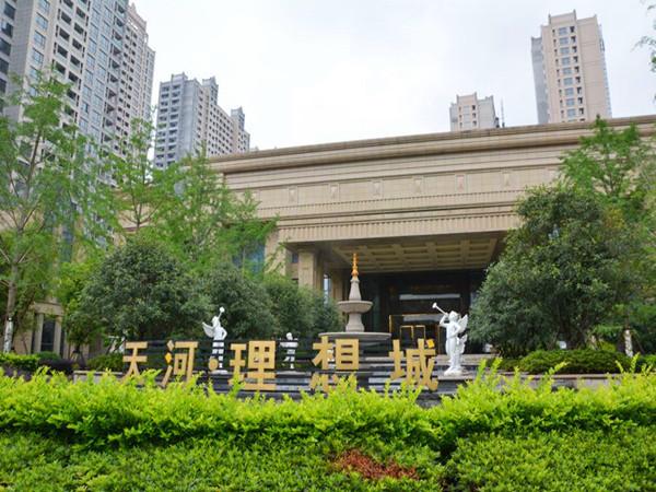 天河理想城品质小区,89平,三室两厅两卫,抢购价100万