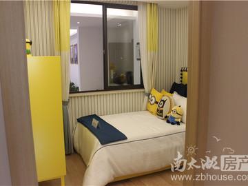 B户型3室2厅1卫 85平升级空间约16平