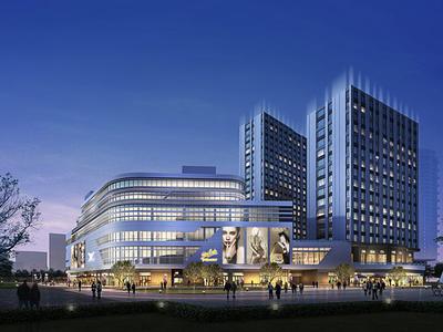 出售天际外滩广场4室2厅1卫133平米219.8万住宅