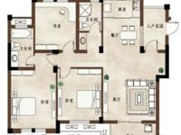 好房推荐:山水华府5楼,127方户型,三室两厅两卫,全新毛坯,有车位,满两年