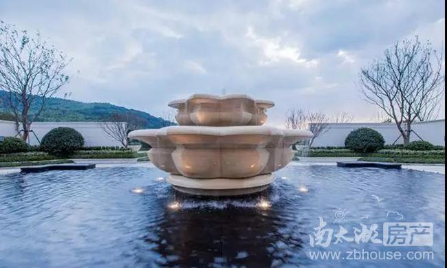 海王港龙融创·霅溪桃源实景图