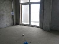 中央世家6楼117.94平,3室2厅,毛坯,满2年,边套,181.8万,有钥匙