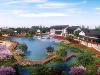 中式江南风格 送大花园600平 朝南 豪华装修 原乡小镇