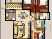 西西那堤124.64平方三室两厅两卫毛坯房出售 无税 !