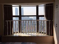 金色水岸26楼朝南精装单身公寓2500/月包物业--苏哥15257204777
