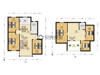 东白鱼潭5楼带阁楼,121.5平,实用面积160多,带储藏室,7月份满两年