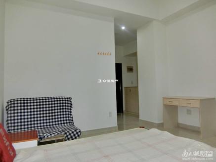 金色水岸 单身公寓 15楼 边套 精装修 朝南 通燃气 爱山小区青阳校区