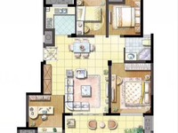 出售交大 岁金时代4室2厅1卫94.68平米79.8万住宅