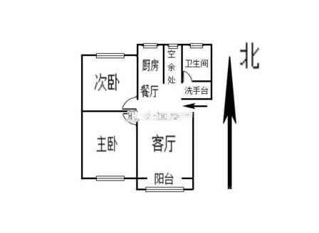 文苑小区 2室2厅 普通装修 3楼 满五唯一 老五中学区房
