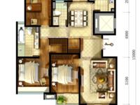 L185天际花园10楼,3开间朝南,3室2厅2卫,毛坯,满两年,看房方便有钥匙