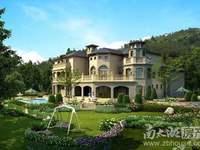 湖州富人区 仁皇板块 山体别墅 大独栋 送花园超大 高尔夫球场就在家门口 通温泉