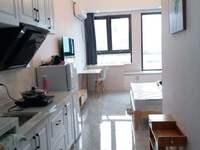 市中心信业ICC单身公寓,45平方,精装,拎包入住,家电齐全