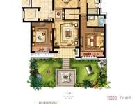 投资或者改善首选,太湖旅游度假区,法式真洋房一楼带花园,120方,三房两厅两卫