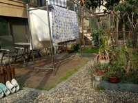 馨水园1楼带花园,123.77平,三室两厅精装,自行车库30平,满5年,176万