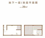 排屋D户型145㎡地下一层