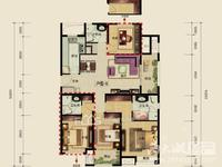 急售单价1万:富力城,全新精装,三室朝南,东边套,采光好