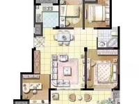 岁金时代高层9楼东边套,四室全新毛坯,三开间朝南,双阳台,94万带带产权车位一个