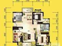 首创悦府电梯5楼产权面积118.85平方三室两厅两卫实用面积