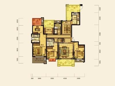 仁皇山五中学区,翰林世家8楼边套,187方,5房2厅3卫,南北露台,290万
