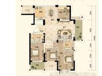 三洋阳光海岸5楼东边套143.6平方四室两厅两卫精