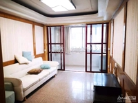 出租月河小学5楼75平米,良好装修两室,家具家电齐全,1900/月