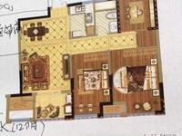 国贸仁皇二期楼王25楼,80方,三房两厅一卫,双阳台,一口价110万,看房方便
