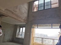 南太湖新区,稀缺景观跃层,客厅挑空,实际180多平,房东承担营业税