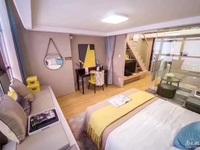 吴兴区政府旁,买一层送一层精装修Loft公寓,总价50万,带租金2800以租养贷