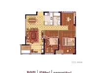诚心出售:国贸仁皇二期中上楼层,88方,3室2厅1卫,一口价125万包营业税!!